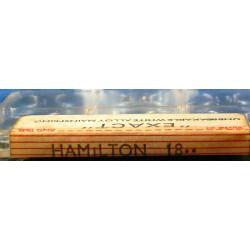 Hamilton 18 Size - 2203 - WHITE ALLOY