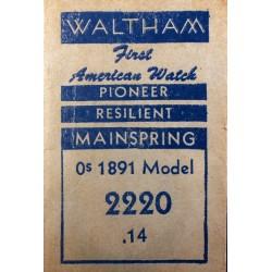 Waltham 0 size - 2220