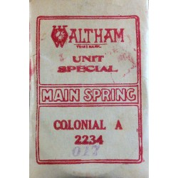 "Waltham 12 Size - ""Colonial A"" - 2234"