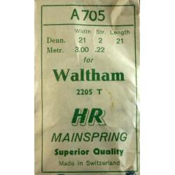 Waltham 18 Size - 2205 T / A705
