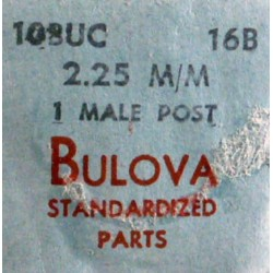 Bulova 10BUC Male post