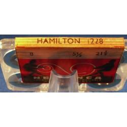 Hamilton 12 Size - 1228 - WHITE ALLOY