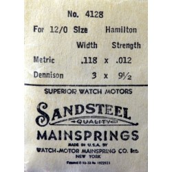 Hamilton 12/0 Size - 4128