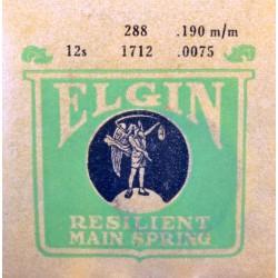 Elgin 12 Size - 1712 - 288