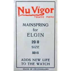 Elgin 20/0s - 5015