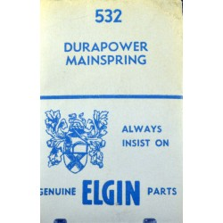 Elgin 8/0s - 532 Durapower (WHITE ALLOY)