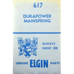 Elgin 21/0s - 617 Durapower (WHITE ALLOY)