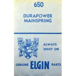 Elgin 650 Durapower (WHITE ALLOY)