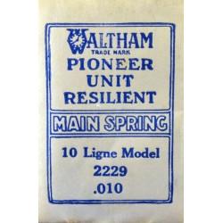 Waltham 10 Ligne - 2229