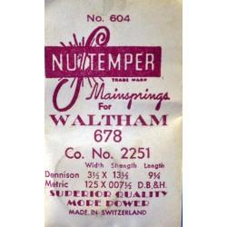 Waltham 2251 - 678
