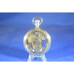 Antique Hand Skeletonized Elgin Pocket Watch