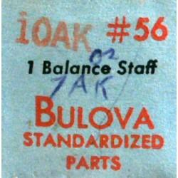 Bulova balance staff - 10AK