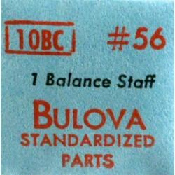 Bulova balance staff - 10BC