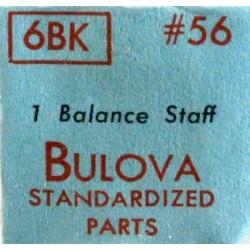 Bulova balance staff - 6BK