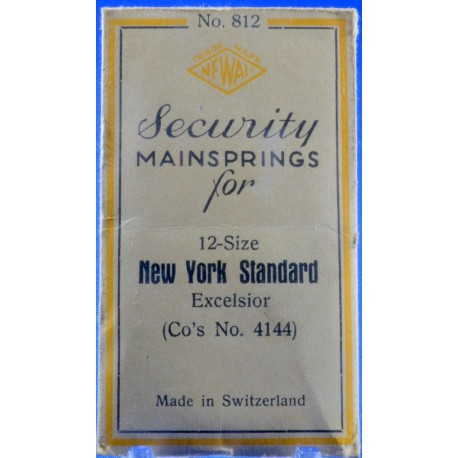 New York Standard Mainspring