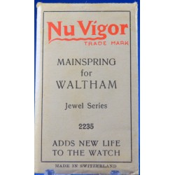 "Waltham ""Jewel Series"" Mainspring"
