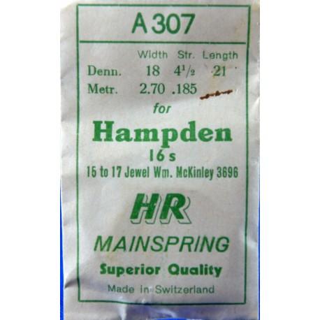 Hampden 16 Size 3696