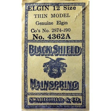 Elgin 12 Size 2874-90 - 4362A