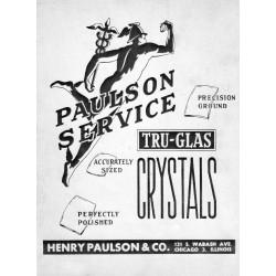 Paulson Crystal 1960 Catalog
