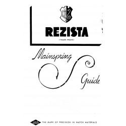 Resista Mainspring Catalog